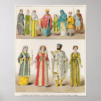 Vestido romano cristiano póster