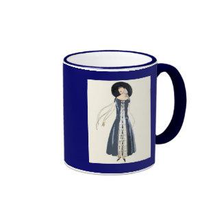 vestido y gorra de la moda de las mujeres de los taza de dos colores