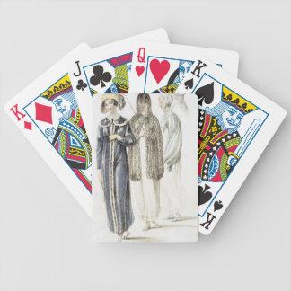 Vestidos de la promenade placa de moda de Acker Baraja Cartas De Poker
