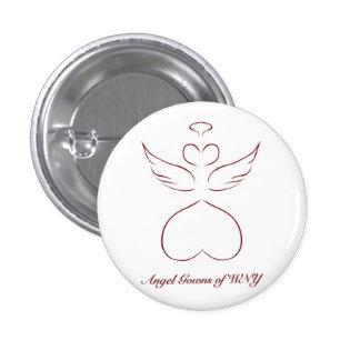 Vestidos del ángel del botón de WNY Pin Redondo De 1 Pulgada