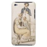 Vestidos que caminan, placa de moda de Ackermann c Case-Mate iPod Touch Coberturas