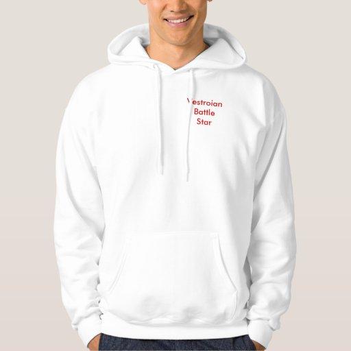 Vestroian Battle Star Uniform Hooded Sweatshirts