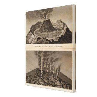 Vesuve, Dolomieu Canvas Print