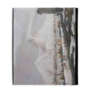 Vesuvio en la nieve, placa V de 'Campi Phlegraei: