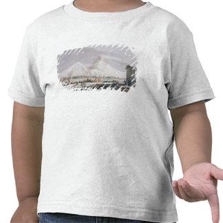 Vesuvio en la nieve, placa V de 'Campi Phlegraei: Camiseta