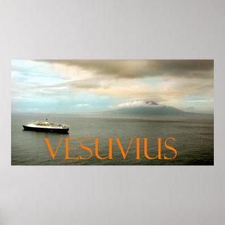 Vesuvio Póster
