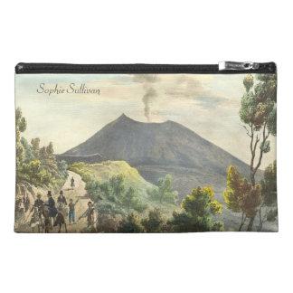 Vesuvius Active Volcano 1832 Naples Italy Travel Accessory Bag
