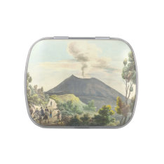 Vesuvius Active Volcano 1832 Naples Italy Jelly Belly Tins at Zazzle