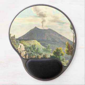 Vesuvius Active Volcano 1832 Naples Italy Gel Mouse Pad