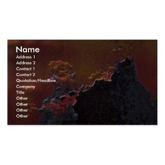 Vesuvius Business Card