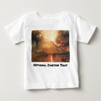 Vesuvius Erupting Baby T-Shirt