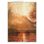 Vesuvius Erupting Card