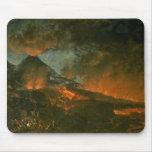 Vesuvius Erupting Mouse Pad