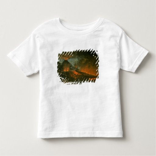 Vesuvius Erupting Tee Shirts