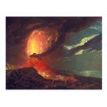 Vesuvius in Eruption Postcard