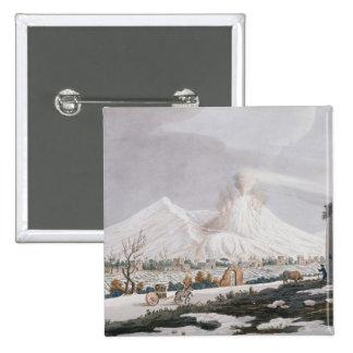 Vesuvius in Snow, plate V from 'Campi Phlegraei: O Button