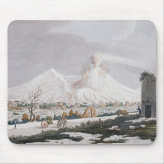 Vesuvius in Snow, plate V from 'Campi Phlegraei: O Mouse Pad