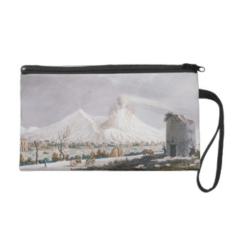 Vesuvius in Snow, plate V from 'Campi Phlegraei: O Wristlet Purse