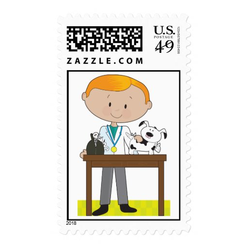 Vet and Dog Stamps