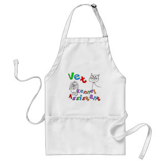 Vet Kennel Assistant T-Shirts and Gifts Adult Apron