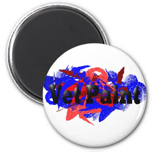 Vet Paint Logo Fridge Magnets