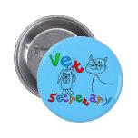 Vet Secretary Gifts, Veterinary Office Secretary Pinback Button