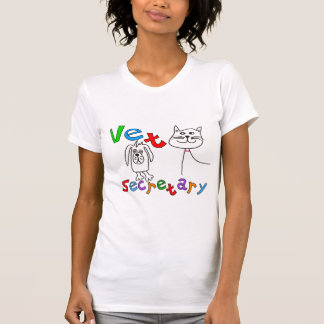 Vet Secretary Gifts, Veterinary Office Secretary T-Shirt