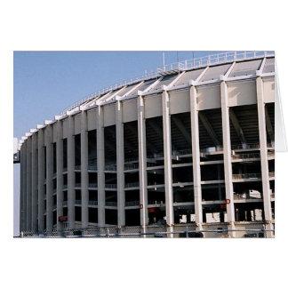 Vet Stadium Horizontal Greeting Card