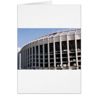 Vet Stadium Vertical Greeting Card