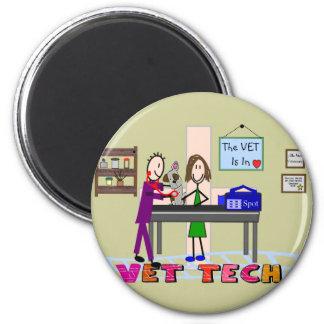 Vet Tech Art Gifts Magnet