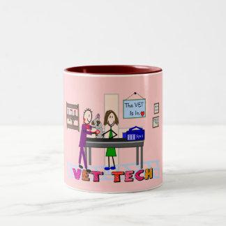 Vet Tech Art Gifts Coffee Mug