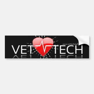 vet tech bumper sticker