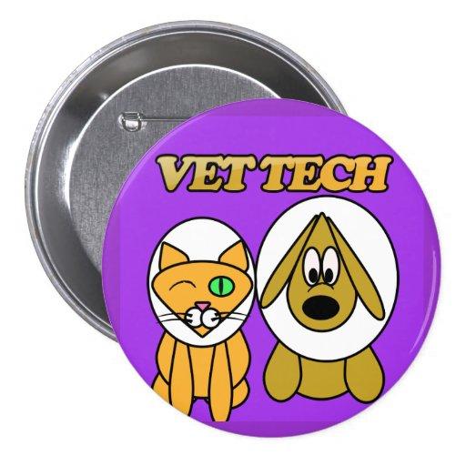 vet tech button