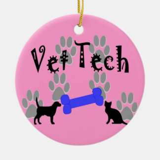 Vet Tech Christmas Ornament  Paws and Bones