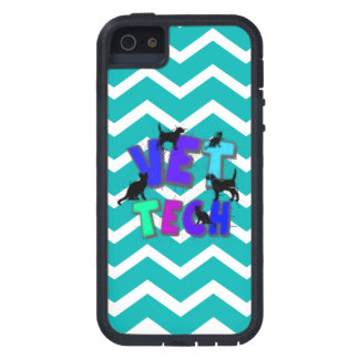 Vet Tech Dot iPhone 5 Case Chevron