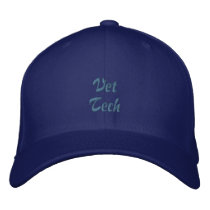 Vet Tech Embroidered Baseball Hat