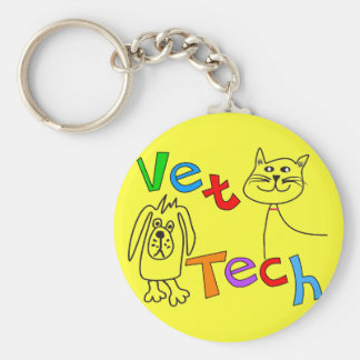 Vet Tech Gifts, Veterinary Technician Keychain