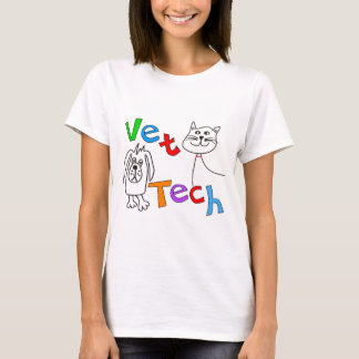 Vet Tech Gifts, Veterinary Technician T-Shirt