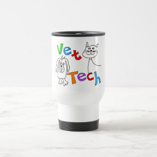 Vet Tech Gifts, Veterinary Technician Travel Mug