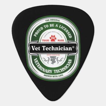 Vet Tech Guitar Pick by Vettechstuff at Zazzle