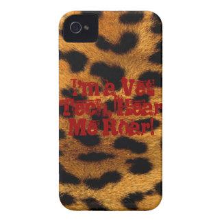 Vet Tech - Hear Me Roar! iPhone 4 Case-Mate Cases