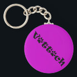 """vet tech paw shadow design keychain<br><div class=""""desc"""">For the pink lovers!</div>"""