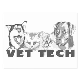 Vet Tech Postcard