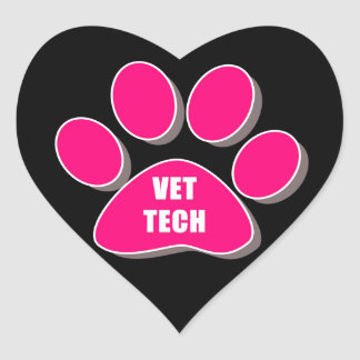 VET TECH STICKER