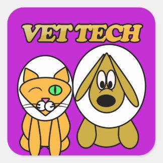 VET TECH STICKER BY WWW.VETTECHSTUFF.COM STICKERS
