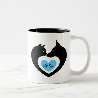 Vet Tech Two-Tone Coffee Mug