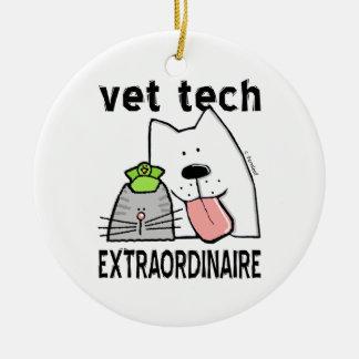 vet+tech vet+tech+gifts vet+tech+gear veterinary+t ceramic ornament
