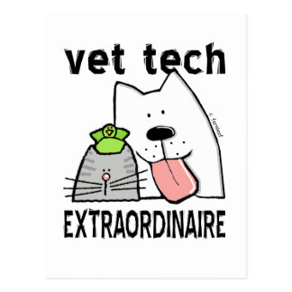 vet+tech vet+tech+gifts vet+tech+gear veterinary+t postcard