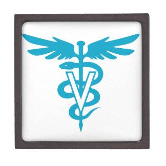 Vet Tech - Veterinary Symbol Keepsake Box