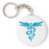 Vet Tech - Veterinary Symbol Keychain